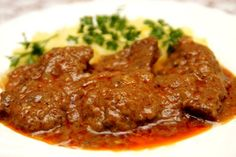 sm - hovädzie mäso v marináde No Salt Recipes, Cooking Recipes, My Favorite Food, Favorite Recipes, Good Food, Yummy Food, Czech Recipes, Hungarian Recipes, Food 52