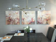 How To Light Your Dining Room For Dinner Parties. Modern  ChandelierChandelier ...