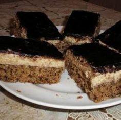 Évekig kerestem ezt a receptet! My Recipes, Sweet Recipes, Real Food Recipes, Cookie Recipes, Dessert Recipes, Hungarian Desserts, Hungarian Recipes, Delicious Desserts, Yummy Food