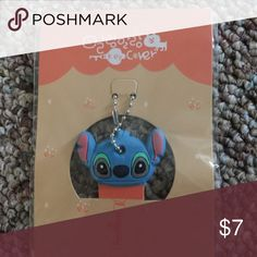 Stitch key cover/cap keychain New Accessories Key & Card Holders