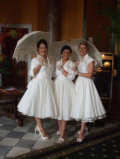 Custom made wedding dress by 'Dresses At No. 9'...