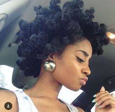 Now that's magic! #naturalhair #4chair                                                                                                                                                                                 More