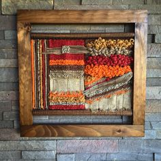 Items similar to Woven wall hanging on Etsy Weaving Wall Hanging, Weaving Art, Weaving Patterns, Loom Weaving, Tapestry Wall Hanging, Hand Weaving, Tapestry Loom, Textile Fiber Art, Weaving Projects
