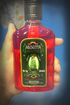 Lady Wormwood's Crazy Red Absinthe from Barcelona
