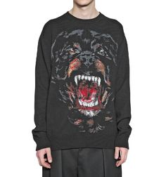 Fancy - ROTTWEILER WOOL KNIT SWEATER - GIVENCHY