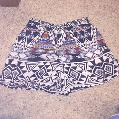 Angie Shorts Soft printed Angie shorts! Cute for summer! Never wore them! Angie Shorts