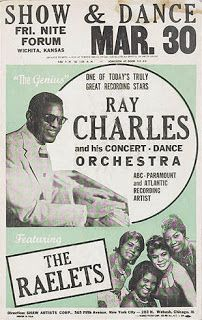 Poster for a gig on March 30, 1961.