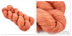 Piment (semi-solid) , lace 100gr=800m, 80/20 merino tencel, €15.75, 2-4mm,
