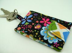 Card Wallet Key Chain PDF Tutorial ... Super quick by aSundayGirl, $5.00