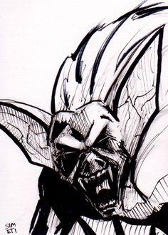 Man-Bat by PeterSimeti