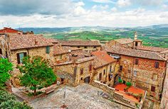 Todi, Italy.  Location of Hot Air Balloon Festival for 2 weeks mid July every year