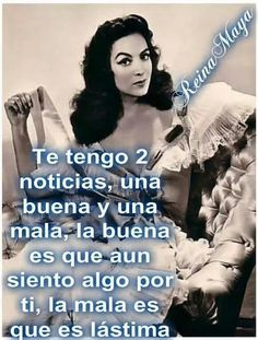"""""""I've good news & bad news: good news is, I still feel something for you. Bad news is, it's PITY. Bitch Quotes, Sarcastic Quotes, Me Quotes, Ex Amor, Knowledge And Wisdom, Spanish Quotes, Funny Cards, Life Motivation, Woman Quotes"""