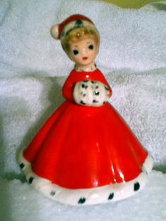 VINTAGE JOSEF ORIGINAL CHRISTMAS GIRL BELL | eBay