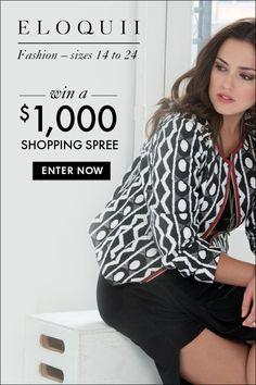 Eloquii Clothing Shopping Spree – Plus-Size Clothing Sweepstakes   OK! Magazine