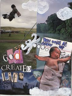 """Pin – It Photomontage Level I entry on Respect Life theme """"Each of Us is a Masterpiece of God's Creation!"""" All entries are property of Respect Life Diocese of Rockville Centre Office © 2015"""