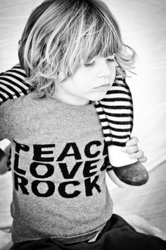 peace love rock x