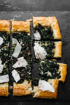 Rustic Swiss Chard Tart with Sumac and Ricotta Salata - The Little Ferraro Kitchen