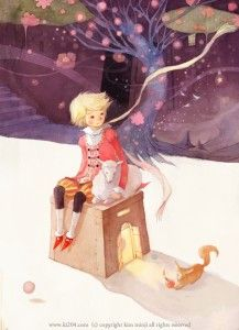 The Little Prince / © Kim Minji - illustrator Children's Book Illustration, Character Illustration, Watercolor Illustration, Kim Min Ji, The Little Prince, Illustrations And Posters, Storyboard, Clipart, Art Reference