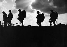 Men of the 8th Battalion, East Yorkshire Regiment going up to the line near Frezenberg during the Third Battle of Ypres, 5 October 1917. photograph by Brooks, Ernest (Lieutenant)