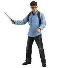 NECA Harry Potter Deathly Hallows 7 Inch Action Figure Harry Potter Snatcher Case