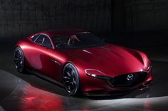 Now the new Mazda RX-VISION rotary sports car concept debuts the new and improved Skyactiv-R rotary engine.