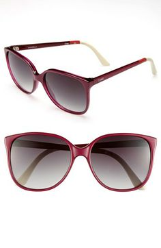 TOMS 'Sandela' 57mm Sunglasses available at #Nordstrom these are a dream