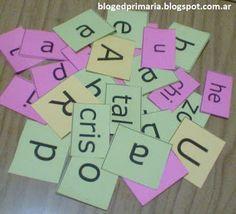 Educación Primaria: Letras y sílabas móviles
