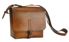 Vintage Swiss Military Messenger Bag