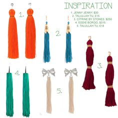 Google Αποτελέσματα Eικόνων για http://greeneyed.com/wp-content/uploads/DIY-Tassel-Earrings.jpg