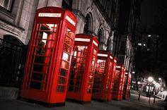 red telephones
