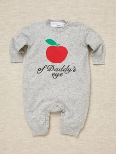 Bonnie Baby - Apple Of Daddy's Eye Playsuit