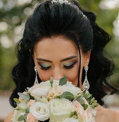 Kolczyki ślubne DEMI , kolczyki wieczorowe, kolczyki z cyrkonii od BSHBridal Crown, Fashion, Moda, Corona, Fashion Styles, Fashion Illustrations, Crowns, Crown Royal Bags