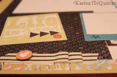 Chalk it Up WOTG Scrapbooking Kit sneak peek #CTMH #layouts #ChalkItUp