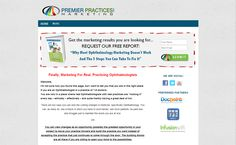Web design for Premier Practices Marketing The Marketing, Web Design, Website, Blog, Design Web, Blogging, Website Designs, Site Design