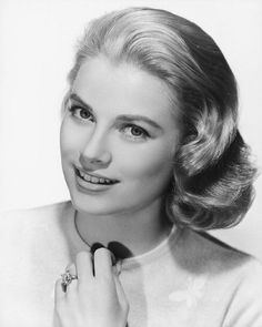 "Grace Kelly, Nov.12,1929 - Sep.14,1982. (Princess Of Monaco, Actress - ""Rear Window""). On Sep.13 She Had A Stroke, Lost Control Of Her Car, Drove Off The Road & Down A Mountainside. Had Brain Damage. She Was Taken Off Life Support The Next Day"
