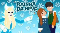 A Rainha da Neve - Desenho Animado - Historia completa em Português