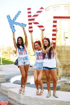 Best things in life: America, sisters, and Kappa Kappa Gamma. TSM.
