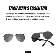 fd7ff016b58 MS Polarizer Aviator Sunglasses for Mens Womens Mirrored Sun Glasses Shades  with Uv400 Gun grey -