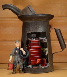 Ted the mechanic Oil Can by ~MiniatureMadness on deviantART