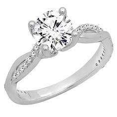 0.70 Carat (ctw) 14K White Gold Round Diamond Solitaire W... https://www.amazon.com/dp/B071FWDNMZ/ref=cm_sw_r_pi_dp_x_25jszbGTBC7AF