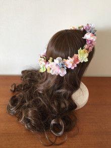 ガーベラとマムのラプンツェル風アイテムセット☆ |Ordermade Wedding Flower Item MY FLOWER ♪ まゆこのブログ