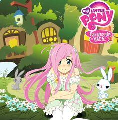 Fluttershy anime