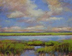 """An Interesting Technique for Painting Marsh Grasses with Pastel"" by Karen Margulis"