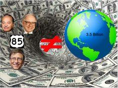3.5 billion and 85 people