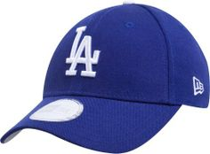 MLB Los Angeles Dodgers Youth Pinch Hitter Wool Replica Adjustable Cap (Blue and White) by New Era. $16.45. Youth Wool Replica Game Cap with adjustable Velcro closure.. Team logo embroidered on front of cap. Officially licensed by Major League Baseball. About New Era                Founded in 1920, the New Era Cap Company is the leading headwear manufacturer and creator of New Era Apparel, products that transcend time, culture, sport, and fashion. Producing more than 35 million c...