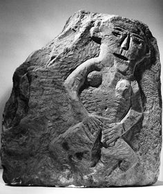 Sheela-na-Gig (female deity), Llandrindod Wells [image 1 of 2]  | Peoples Collection Wales