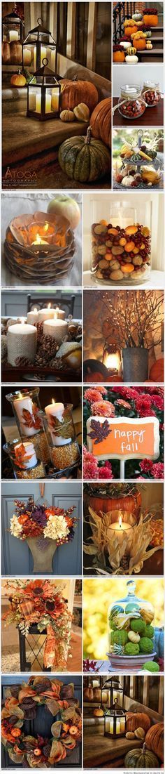 Gorgeous Fall Decorations