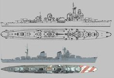 Technical Drawings, Military Diorama, World War, Boats, Army, Ship, Craft, Underwater, Industrial Design