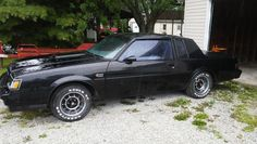 The Buick Grand National was a legendary muscle car. Here's the real story behind the Buick Grand National. Running London, 1987 Buick Grand National, Junkyard Cars, Buick Envision, Car Barn, Buick Cars, Buick Lacrosse, Best Barns, Buick Enclave