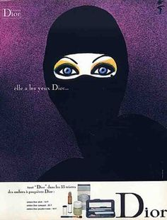 Rene Gruau, Dior ad, 1971
